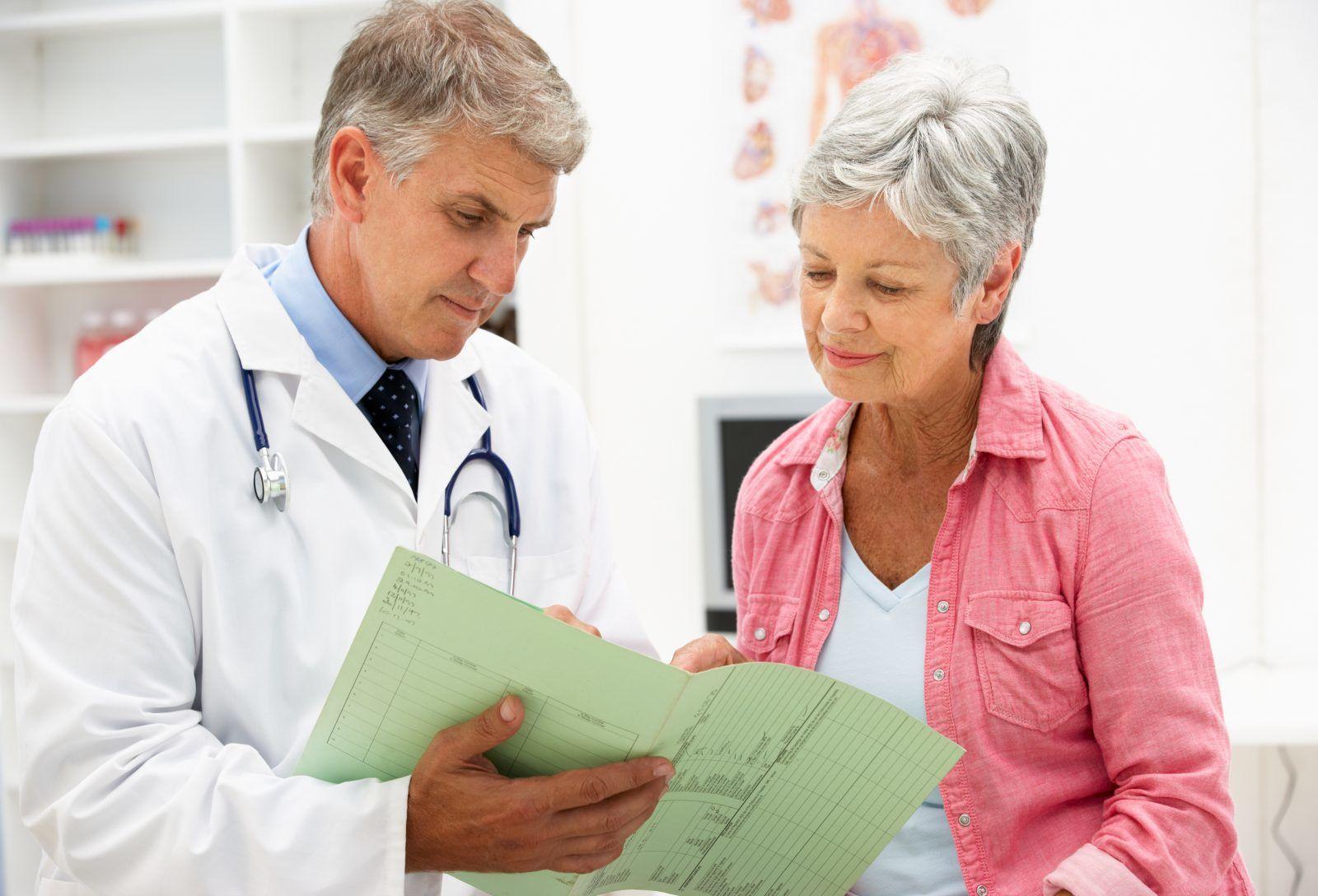 Распространенные заболевания в пожилом возрасте