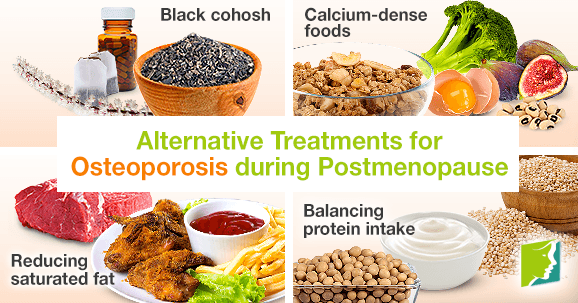 alternative treatments for osteoporosis