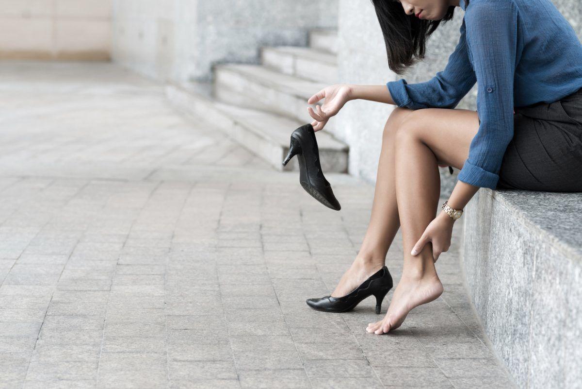 Improper footwear